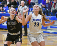 Gallery: Girls Basketball Friday Harbor @ La Conner